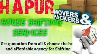 HAPUR    Packers & Movers ~House Shifting Services ~ Safe and Secure Service  ~near me 1280x720 3 78