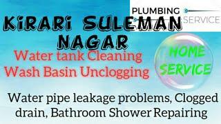 KIRARI SULEMAN NAGAR    Plumbing Services ~Plumber at your home~ Bathroom Shower Repairing ~near m