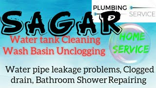 SAGAR    Plumbing Services ~Plumber at your home~   Bathroom Shower Repairing ~near me ~in Building