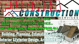 PURNIA    Construction Services ~Building , Planning,  Interior and Exterior Design ~Architect  1280