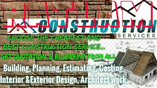 RATLAM    Construction Services ~Building , Planning,  Interior and Exterior Design ~Architect  1280