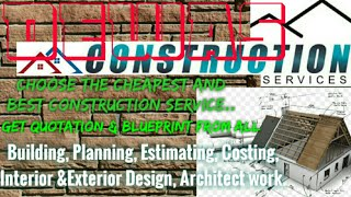DEWAS    Construction Services ~Building , Planning,  Interior and Exterior Design ~Architect 1280x7