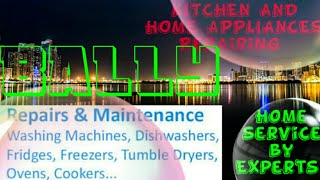 BALLY     KITCHEN AND HOME APPLIANCES REPAIRING SERVICES ~Service at your home ~Centers near me 1280