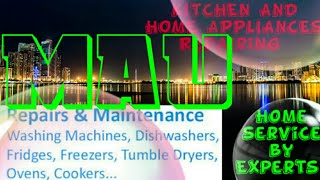 MAU    KITCHEN AND HOME APPLIANCES REPAIRING SERVICES ~Service at your home ~Centers near me 1280x72
