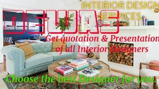 DEWAS    INTERIOR DESIGN SERVICES ~ QUOTATION AND PRESENTATION~ Ideas ~ Living Room ~ Tips ~Bedroom