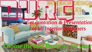 DURG    INTERIOR DESIGN SERVICES ~ QUOTATION AND PRESENTATION~ Ideas ~ Living Room ~ Tips ~Bedroom 1
