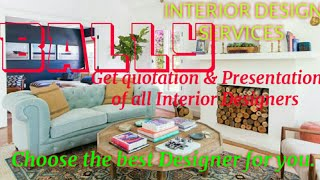BALLY    INTERIOR DESIGN SERVICES ~ QUOTATION AND PRESENTATION~ Ideas ~ Living Room ~ Tips ~Bedroom