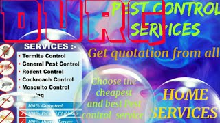 DURG     Pest Control Services ~ Technician ~Service at your home ~ Bed Bugs ~ near me 1280x720 3 78