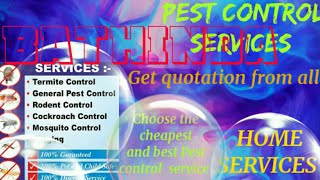 BATHINDA    Pest Control Services ~ Technician ~Service at your home ~ Bed Bugs ~ near me 1280x720 3