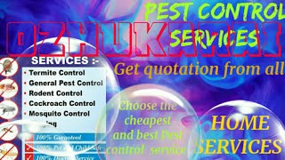 OZHUKARAI     Pest Control Services ~ Technician ~Service at your home ~ Bed Bugs ~ near me 1280x720