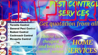 HAPUR     Pest Control Services ~ Technician ~Service at your home ~ Bed Bugs ~ near me 1280x720 3 7
