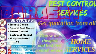 BARASAT    Pest Control Services ~ Technician ~Service at your home ~ Bed Bugs ~ near me 1280x720 3