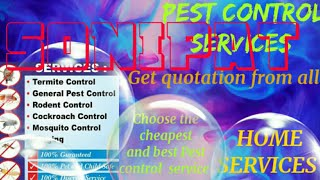 SONIPAT     Pest Control Services ~ Technician ~Service at your home ~ Bed Bugs ~ near me 1280x720 3