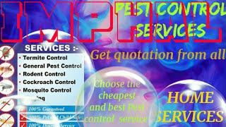 IMPHAL   Pest Control Services ~ Technician ~Service at your home ~ Bed Bugs ~ near me 1280x720 3 78