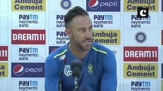 Ind vs SA: Our batting line-up was mentally weak, says Proteas skipper Faf Du Plessis