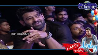 Prabhas Happy Birthday Special | Tollywood Celebs  about Prabhas | Baahubali | Top Telugu TV