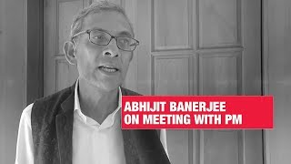 Meeting PM Modi a unique experience: Nobel laureate Abhijit Banerjee | Economic Times