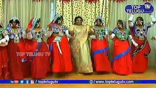 తెలంగాణ గవర్నర్ బంజారా డాన్స్  | Tamilisai Soundararajan Dance With Banjara Group | Top Telugu TV