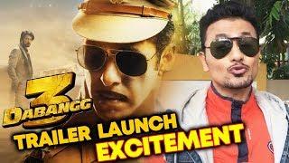 Dabangg 3 Trailer Launch | Excitement | Expectations | Salman Khan | Sonakshi | Saiee
