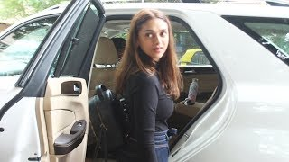 Aditi Rao Hydari Spotted At Sequel Restaurant Bandra