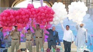 She Team | 5 Years Celebration | at Charminar | Asaduddin Owaisi | Anjani Kumar | Shika Goel | DT