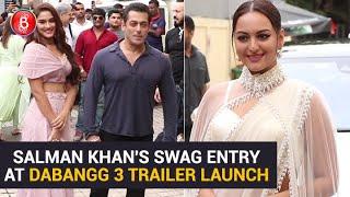 Dabangg 3 Trailer | Salman Khan Makes A Dhamakedaar Entry | Sonakshi Sinha | Saiee Manjrekar