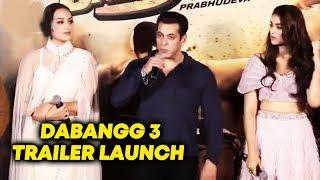 Dabangg 3 Trailer Launch | Salman Khan | Sonakshi Sinha | Saiee Manjrekar