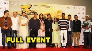UNCUT - Dabangg 3 Trailer Launch | Salman Khan | Sonakshi Sinha | Saiee Manjrekar