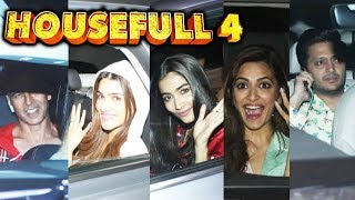 Akshay Kumar Hosts Special Screening Of Housefull 4 | Riteish Deshmukh, Kriti Sanon, Kriti Kharbanda