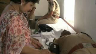 Blood Donation Camp organized By CRPF  R.K.Puram  New Delhi on 7th April, 2012.mpg