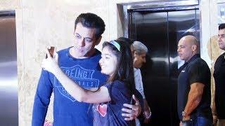 Salman Khan's Sweet Gesture For A Little Fan Will Melt Your Heart – Watch Videos