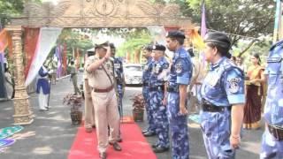 RAF Anniversary Parade held 7 10 12 at 99 BN RAF Hyderabad