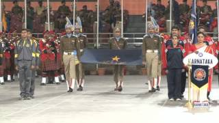 Closing Ceremony of 61st All India Police Wrestling, Weightlifting, Judo, Gymnastics and Boxing Championship