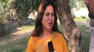 #HARYANA_RESULT_BREAKING : आदमपुर से #BJP प्रत्याशी #SONALI_PHOGAT ने नहीं छोड़ी उम्मीद