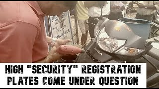 """WATCH: Number Plate Artisans Question High """"Security"""" Registration Plates"""