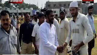 क्रिकेट टूर्नामेंट में धामपुर ने नहटौर को हराया
