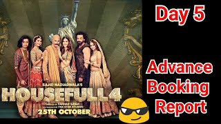 Housefull 4 Advance Booking Report Till Day 5
