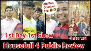 Housefull 4 Movie First Day First Show Public Reaction And Review Till Interval Is Mindblowing