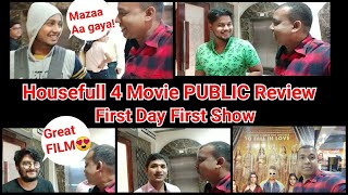 Housefull 4 Public Reaction And  Review First Day First Show In Mumbai