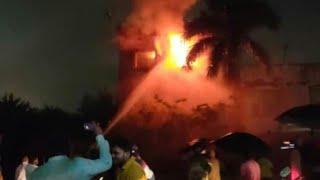 Live Video! | Utkal University Shocking Fire Accident | Bhubaneswar, Odisha | Satya Bhanja