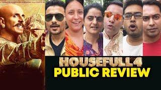 HOUSEFULL 4 PUBLIC REVIEW | Akshay Kumar, Bobby Deol, Ritesh