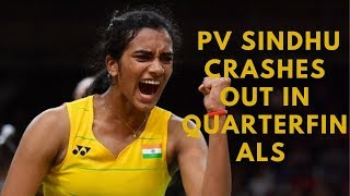 French Open: PV Sindhu crashes out in quarterfinals