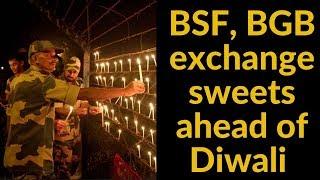 BSF, BGB exchange sweets ahead of Diwali