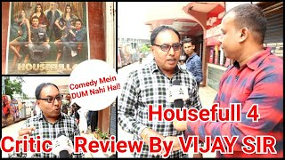 Housefull 4 Movie Review By Film Critic Vijay Sir