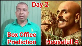 Housefull 4 Box Office Prediction Day 2