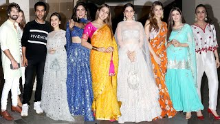 Jackky Bhagnani Host Diwali Party 2019 | Sara Ali Khan, Kriti Sanon, Vrun Dhawan, Shahid Kapoor