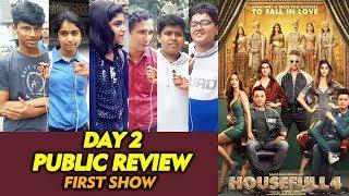 HOUSEFULL 4 PUBLIC REVIEW | Day 2 First Show | Akshay Kumar, Bobby Deol, Riteish