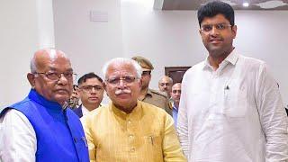 Haryana: Khattar to take oath as CM on Sunday, Dushyant Chautala as his deputy