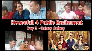 Housefull 4 Public Excitement Second Day Second Show At Gaiety Galaxy And Their Reaction On Critics