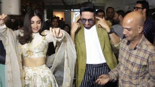 Ayushmann Khurrana, Bhumi Pednekar & Team Bala Fun moment With Journalist Naseem Khan